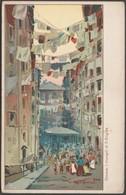 I Truogoli Di Santa Brigida, Genova, Liguria, C.1910s - Scrocchi Cartolina - Genova (Genoa)