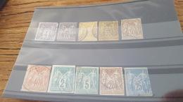 LOT 404102 TIMBRE DE COLONIE GENERALE  OBLITERE - France (ex-colonies & Protectorats)