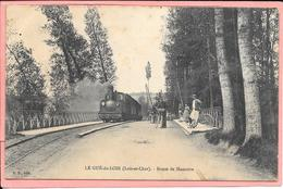 Le Gué Du Loir - Route De Montoire - Train Et Animation - Sonstige Gemeinden