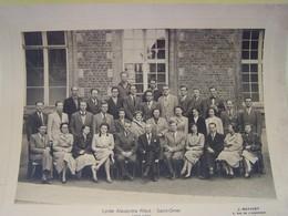 SAINT-OMER (PAS DE CALAIS) LES ECOLES. LYCEE ALEXANDRE RIBOT. ANNEE SCOLAIRE 1952-1953.   100_5807b - Saint Omer