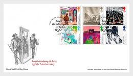 Groot-Brittannië / Great Britain - Postfris / MNH - FDC Royal Academy Of Arts 2018 - 1952-.... (Elizabeth II)