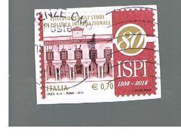 ITALIA REPUBBLICA  -   2014   -  ISPI        -   USATO  ° - 6. 1946-.. Repubblica