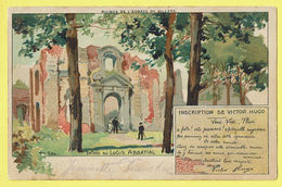 * Villers La Ville (Waals Brabant - Wallonie) * (Louis Titz) Ruines De L'abbaye De Villers, Entrée Du Logis Abbatial TOP - Villers-la-Ville