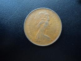 ROYAUME UNI : 2 NEW PENCE  1976   KM 916    TTB / SUP - 1971-… : Monnaies Décimales