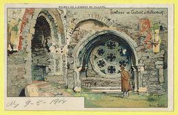 * Villers La Ville (Waals Brabant - Wallonie) * (Louis Titz) Ruines De L'abbaye De Villers, Tombeau Gobert D'Aspremont - Villers-la-Ville