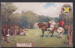 Hertfordshire Postcard - St Albans Pageant - Cassivelaunus Surrenders To Caesar B.C.54 -  DC1682 - Hertfordshire