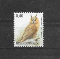 België 2007 Buzin Y&T Nr° 3737** - 1985-.. Oiseaux (Buzin)