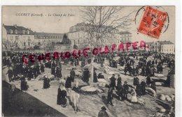 23 - GUERET - LE CHAMP DE FOIRE - MARCHE 1912 - Guéret