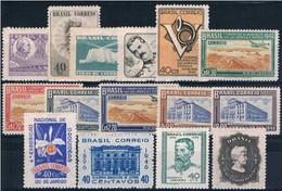 Brasil, 1946, # 438/51, 454, MH - Brasil