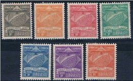 Brasil, 1927, # 1/7, Serviço Postal Aéreo, MH - Brasil