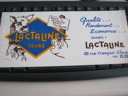 BUVARD PUBBLICITARIA LACTALINE - Milchprodukte