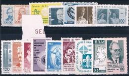 Brasil, 1965, # 766/7, 769/70, 772/4, 776/81, 783/4, 786, MH - Brazil