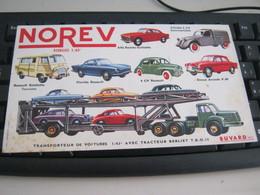 BUVARD PUBBLICITARIA MICRO MINIATURES NOREV - Automobile