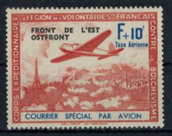 Frankreich Besetzung 2. Weltkrieg Privatausgabe V Mit Plattenfehler V 1942 * - Besetzungen 1938-45