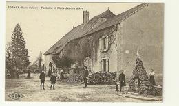 70 - SORNAY / FONTAINE ET PLACE JEANNE D'ARC - Andere Gemeenten