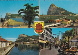 GIBRALTAR---( Multivues + Blason )--voir 2 Scans - Gibraltar