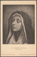 Carlo Dolci - St Catherine Of Siena, C.1930s - Dulwich College Gallery Postcard - Paintings