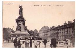 1882 - Paris ( 3e , 10e , 11e ) - Place  De La République Et Caserne Du Prince Eugène - - Arrondissement: 10
