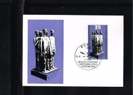 1979 - DDR MK Mi. 2451 - Art - Sculptures & Statues - Mittelbau-Dora Bei Nordhausen [GV012] - [6] Oost-Duitsland