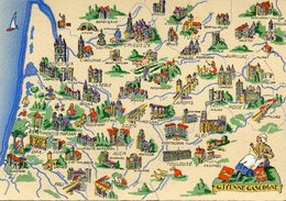 GUYENNE GASCOGNE(BARRE  DAYEZ) - Maps