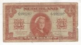 Pays-Bas : 1 Gulden  18/5/1945. VG - [2] 1815-… : Kingdom Of The Netherlands