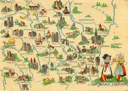 ALSACE LORRAINE(BARRE  DAYEZ) - Maps