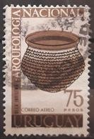 URUGUAY 1967 Airmail - Archaeological Discoveries. USADO - USED. - Uruguay