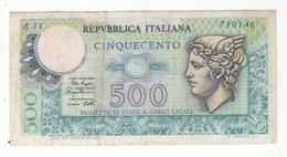 Italie : 500 Lires Du 2/4/79. Pick # 94. VF - [ 2] 1946-… : République