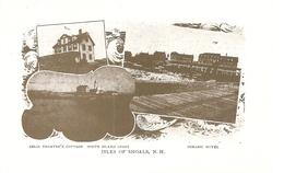 Etats-Unis. CPM. Isles Of Shoals N.H. White Island Light, Océanic Hôtel.(Iles Entre Le Maine Et Le New Hampshire)(Repro) - Etats-Unis