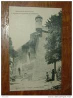 ANSOUIS : L'église Et L'éperon Du Chateau ................... CK-59a - Ansouis