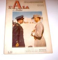 Aeronautica - Rivista Aviazione Fascista L' Ala D'Italia N. 23 - 1942 - Libri, Riviste, Fumetti