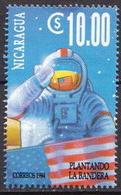 Nicaragua MNH Stamp - Space