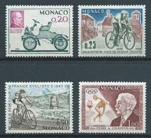 MONACO 1963 . Série N°s 632 à 635 . Neufs ** (MNH) . - Monaco