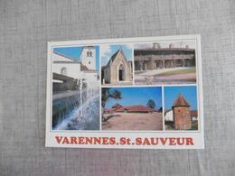 CARTE  POSTALE   DE     VARENNES   ST   SAUVEUR - Autres Communes