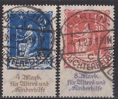 Rie_ Deutsches Reich - Mi. Nr. 233 - 234 - Gestempelt Used - Allemagne