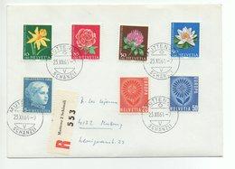 BRIEF Einschreiben PRO JUVENTUTE 1964 Gel. 1964 V. Muttenz Schänzli - Pro Juventute