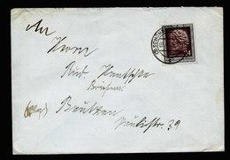 A5562) DDR Brief Schönberg 7.4.52 N. Bautzen M. EF Mi.301 - DDR