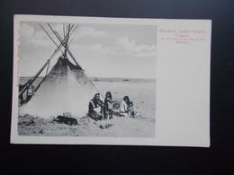 BLACKFOOT INDIAN FAMILY  CANADA 1900/10 - Amérique