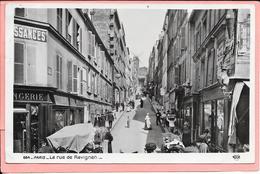 Paris - La Rue De Ravignan - Arrondissement: 18