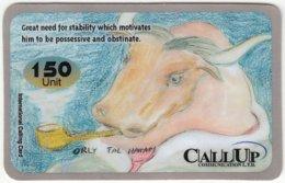 ISRAEL B-547 Prepaid CallUp - Signs Of Zodiac - Taurus - Used - Israel