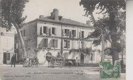 HOUEILLES  CASERNE DE GENDARMERIE - France