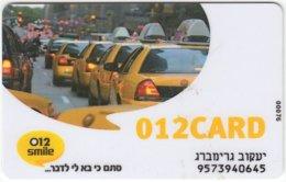 ISRAEL B-595 Prepaid TeleTalk - Traffic, Car, Taxi - Used - Israel