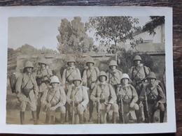 Photo Originale Groupe De Soldats Du 26 E , Infanterie Coloniale ? , Vers 1910 , Bon Etat - Guerra, Militari