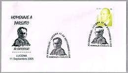 "TORERO ""PAREJITO"" - BULLFIGHTER. Lucena, Cordoba, Andalucia, 2005 - Fiestas"