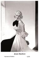 JEAN HARLOW - Film Star Pin Up PHOTO POSTCARD - 6-349 Swiftsure Postcard - Postcards