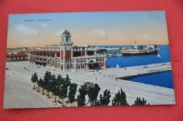 Trieste La Pescheria 1932 + Francobollo Cinquantenario Garibaldino Da 10 Cent - Italy