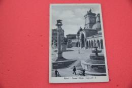 Udine Piazza VE II 1937 - Italy