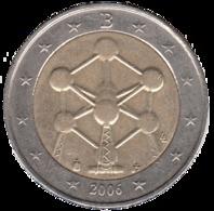 """BELGIQUE 2€ 2006 """"ATOMIUM"""" SUP ++++++ - Belgique"""