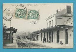 CPA - Chemin De Fer Arrivée Dun Train En Gare De REVIN 08 - Revin