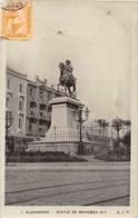 ¤¤  -  EGYPTE   -  ALEXANDRIE   -   Statue De Mohamed Aly   -  ¤¤ - Alexandria